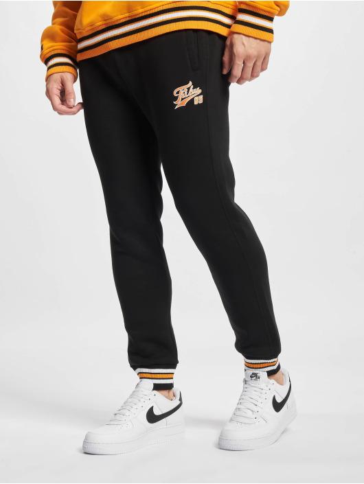 Fubu Jogging kalhoty Varsity čern