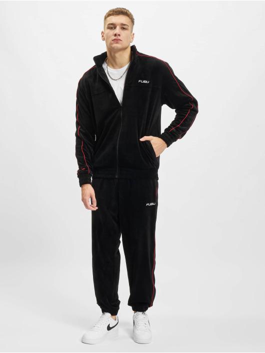 Fubu Jogging kalhoty Corporate Velours čern