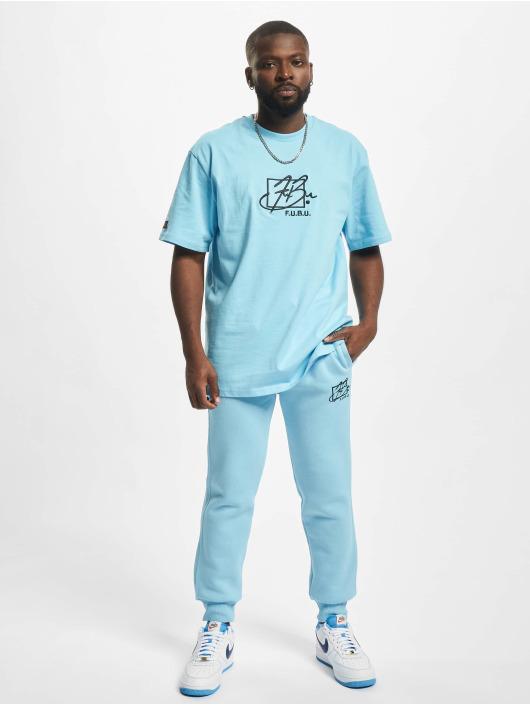 Fubu Jogginghose Script Essential blau