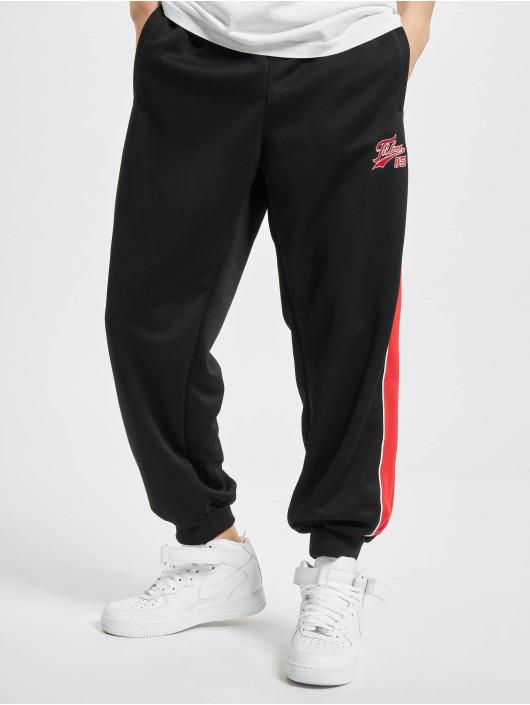 Fubu Jogginghose Varsity schwarz