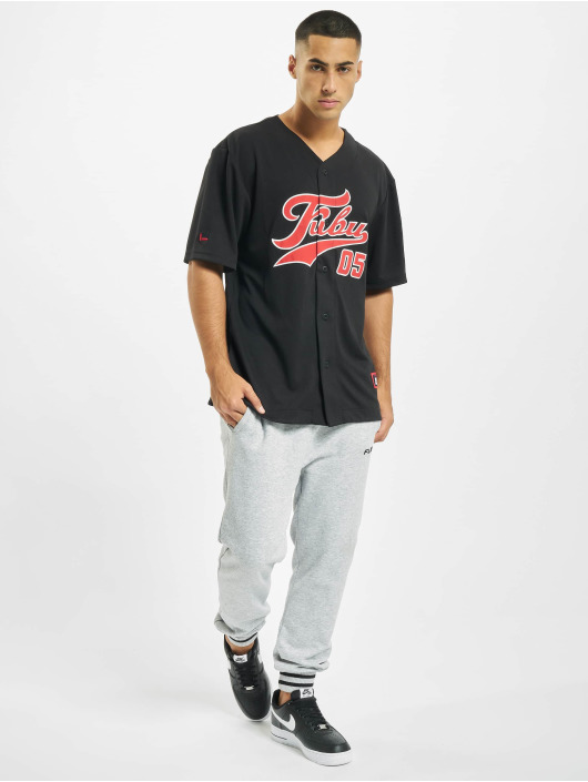 Fubu Kauluspaidat Fb Varsity Baseball Jersey musta