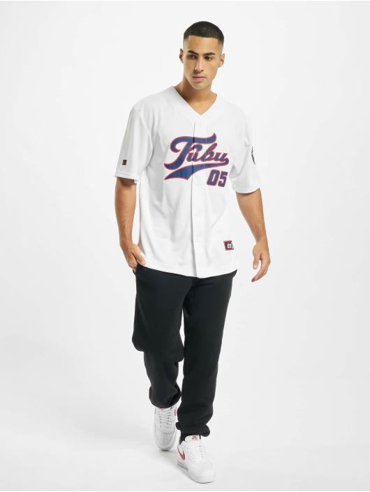 Fubu Kauluspaidat Fb Varsity Baseball valkoinen