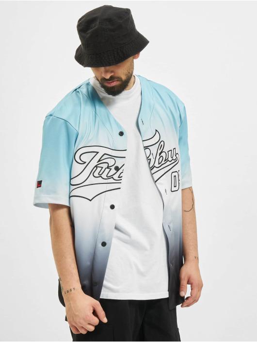 Fubu Košele Varsity Baseball Jersey Gradient modrá