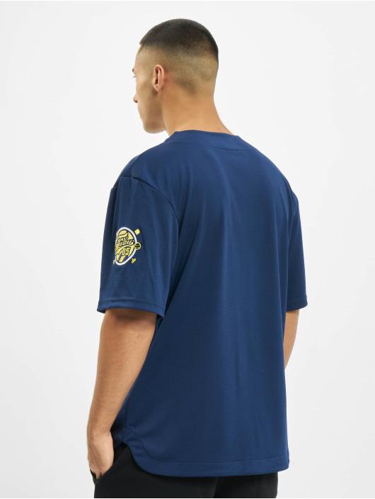 Fubu Koszule Fb Varsity Baseball niebieski