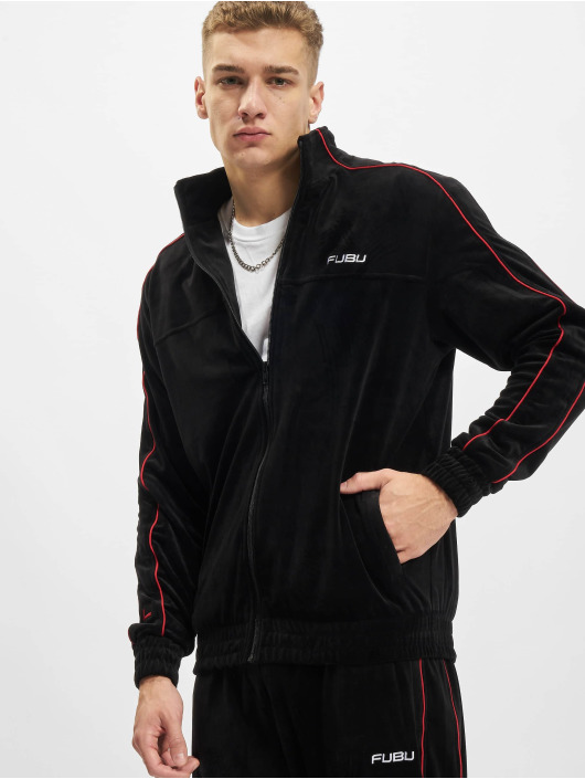 Fubu Lightweight Jacket Corporate Velours black