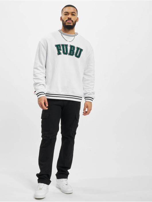 Fubu Maglia College Ssl bianco