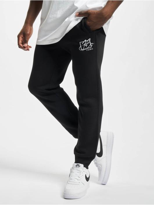 Fubu Pantalón deportivo Sscript Essential negro