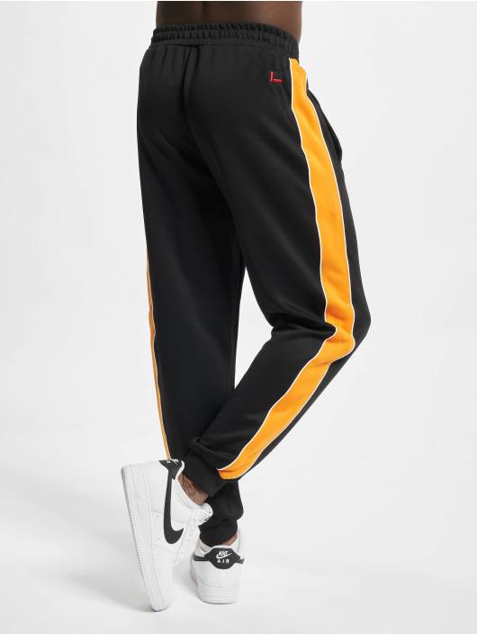 Fubu Pantalone ginnico Varsity nero