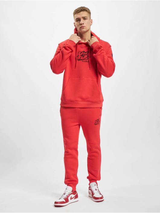Fubu Pantalone ginnico Script Essential rosso