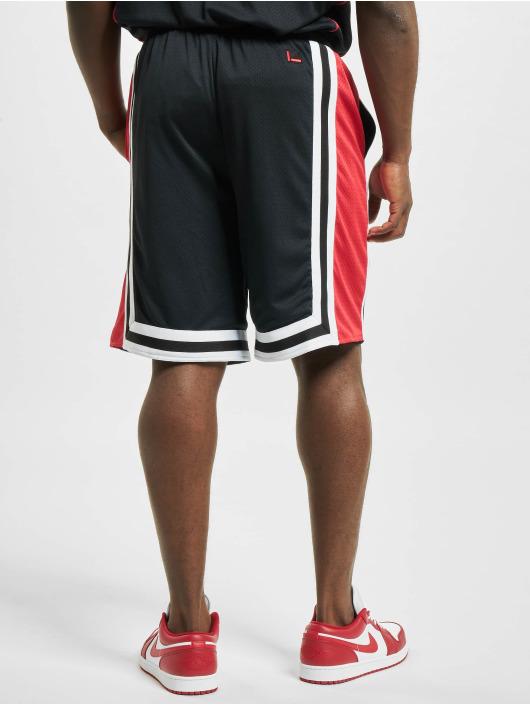 Fubu Shorts College Mesh schwarz
