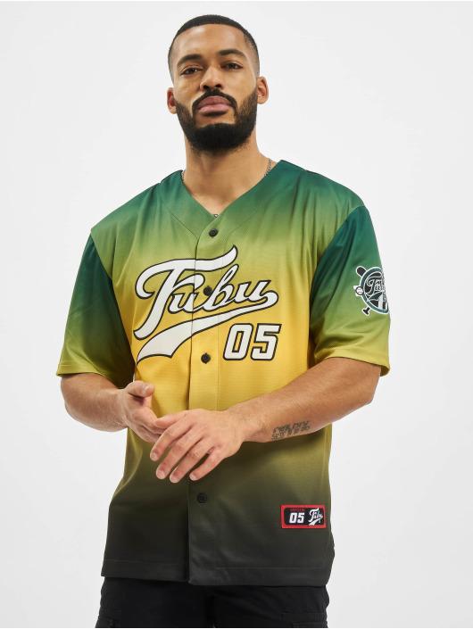 Fubu Skjorta Varsity Baseball grön