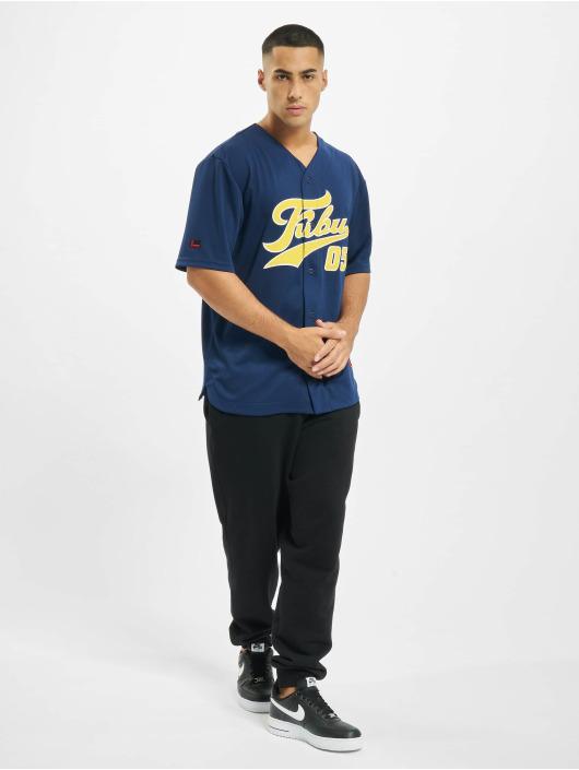 Fubu Skjorter Fb Varsity Baseball blå