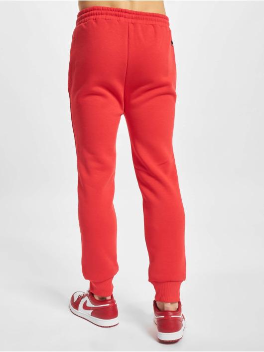 Fubu Spodnie do joggingu Script Essential czerwony