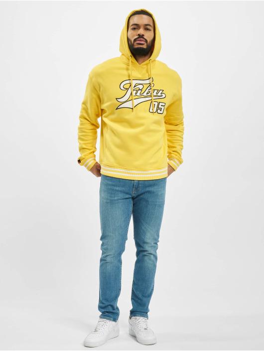 Fubu Sweat capuche Varsity jaune