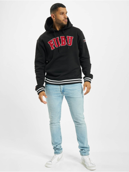 Fubu Sweat capuche Fb College Ssl noir