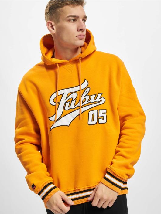 Fubu Sweat capuche Varsity orange
