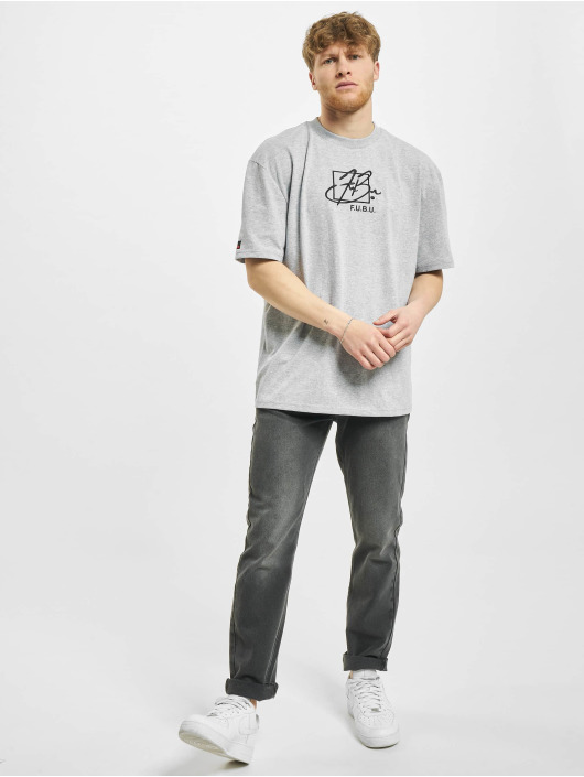 Fubu T-paidat Script harmaa