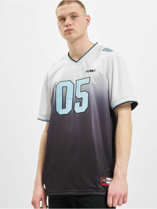 Fubu T-shirt Corporate Grad. Football Jersey bianco