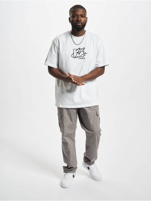 Fubu T-shirt Script Essential bianco