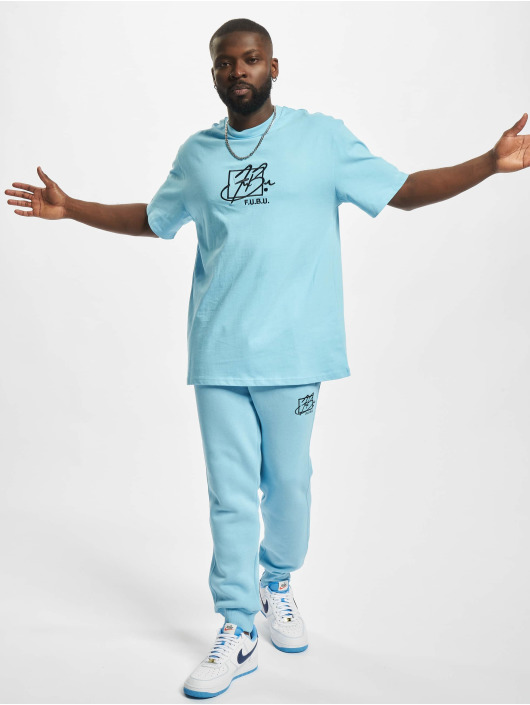 Fubu T-shirt Script Essential blå