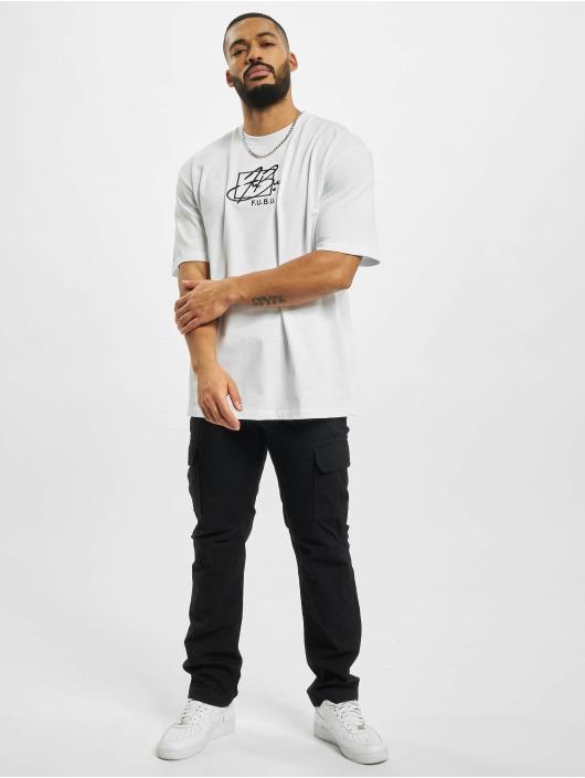 Fubu T-Shirt Script blanc