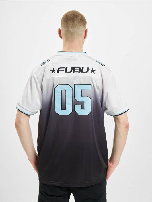 Fubu T-Shirt Corporate Grad. Football Jersey blanc