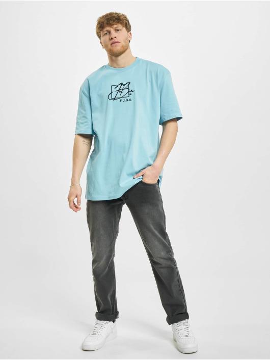 Fubu T-Shirt Script bleu
