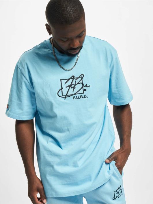 Fubu T-Shirt Script Essential blue