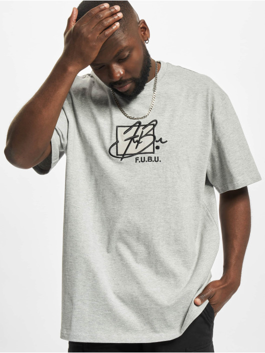 Fubu t-shirt Script Essential grijs