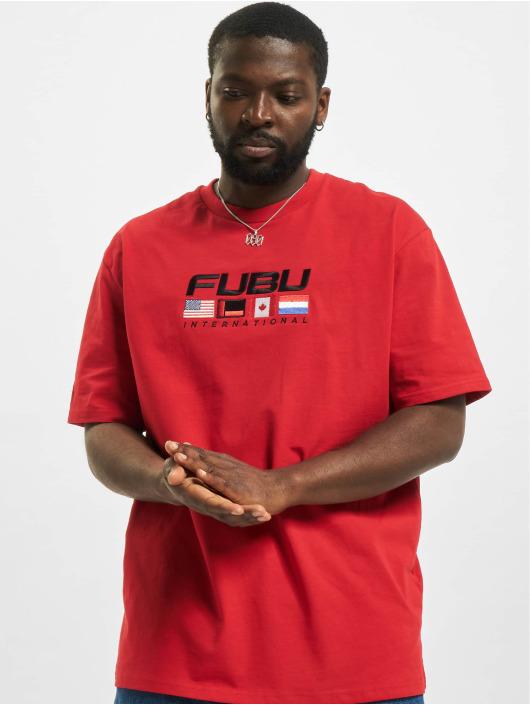 Fubu T-Shirt Corporate rouge