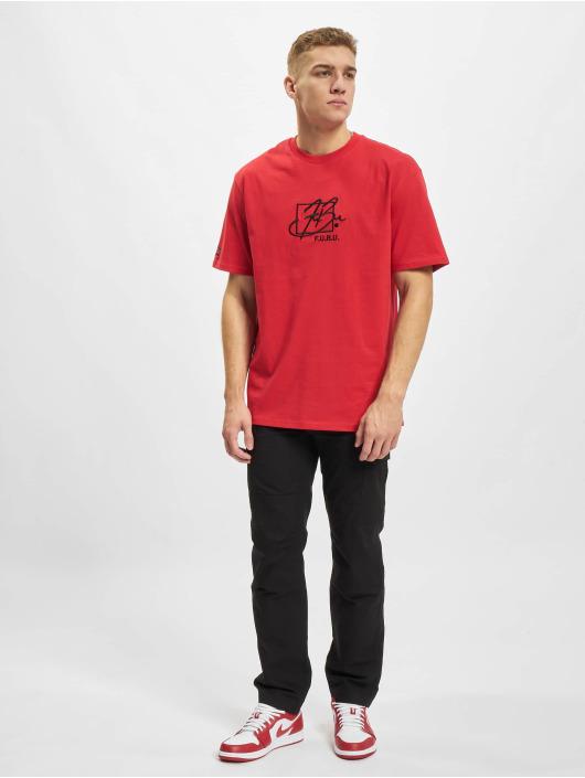 Fubu T-Shirt Script Essential rouge