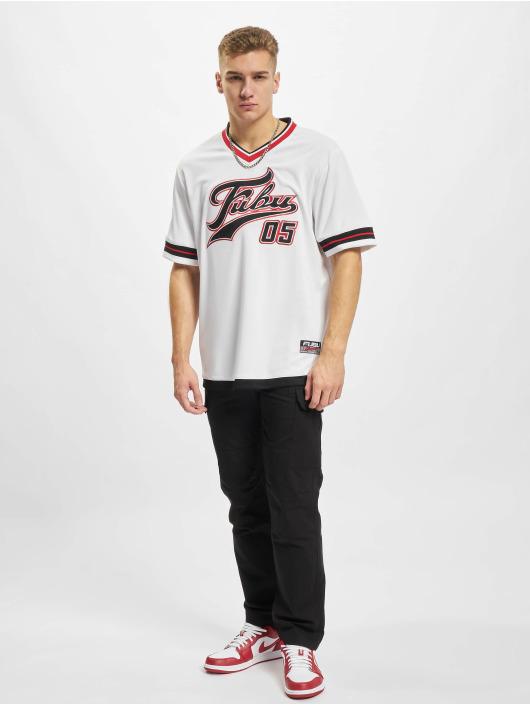 Fubu T-shirt Varsity Jersey vit
