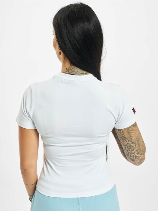 Fubu T-Shirt Fb College Crop white