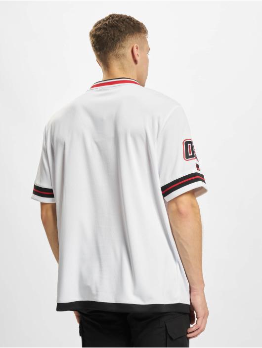 Fubu T-Shirt Varsity Jersey white