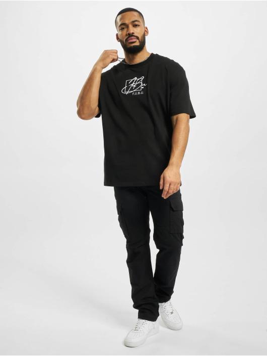 Fubu t-shirt Script zwart