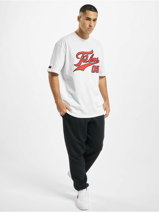 Fubu T-Shirty Fb Varsity bialy