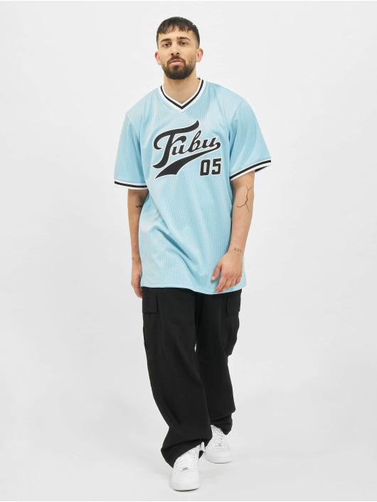 Fubu T-Shirty Varsity niebieski
