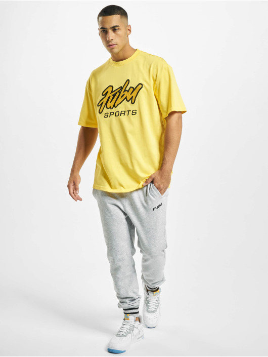 Fubu T-Shirty Fb Sprts zólty