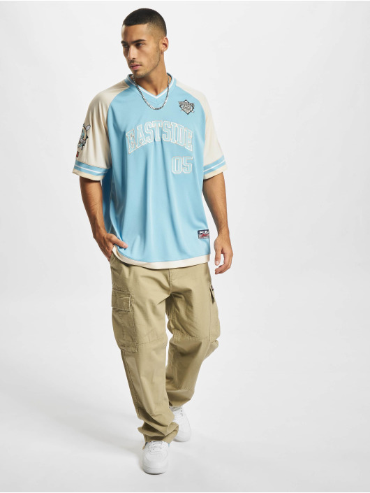 Fubu T-skjorter Eastside Jersey blå