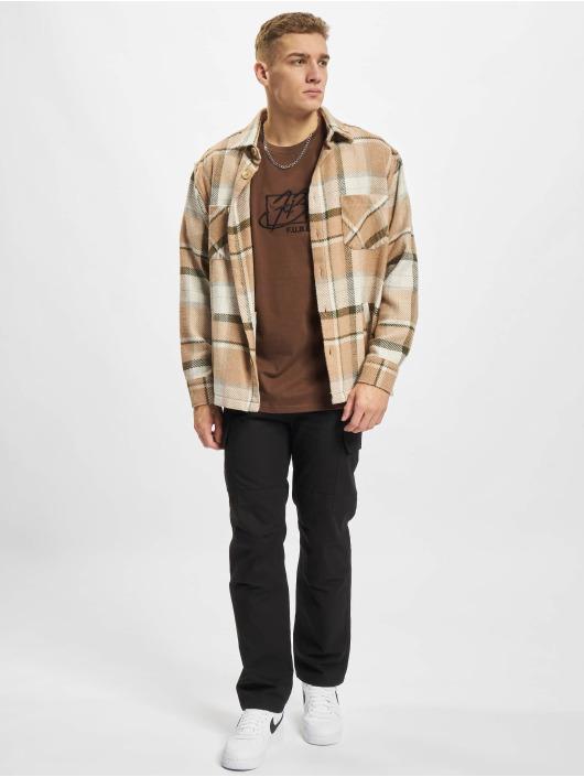 Fubu T-skjorter Script Essential brun