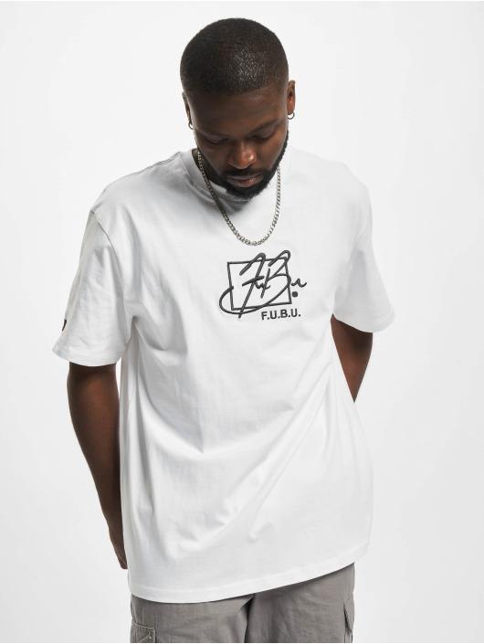 Fubu T-skjorter Script Essential hvit