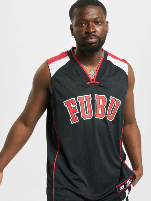 Fubu Tank Tops College Mesh black