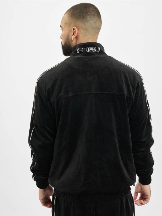 Fubu Transitional Jackets Fb Corporate Velours svart