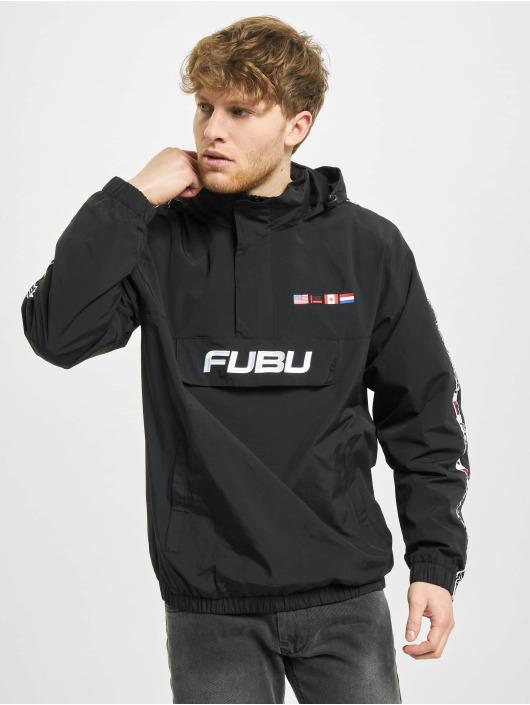 Fubu Übergangsjacke Corporate schwarz