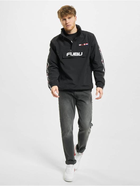 Fubu Veste mi-saison légère Corporate noir