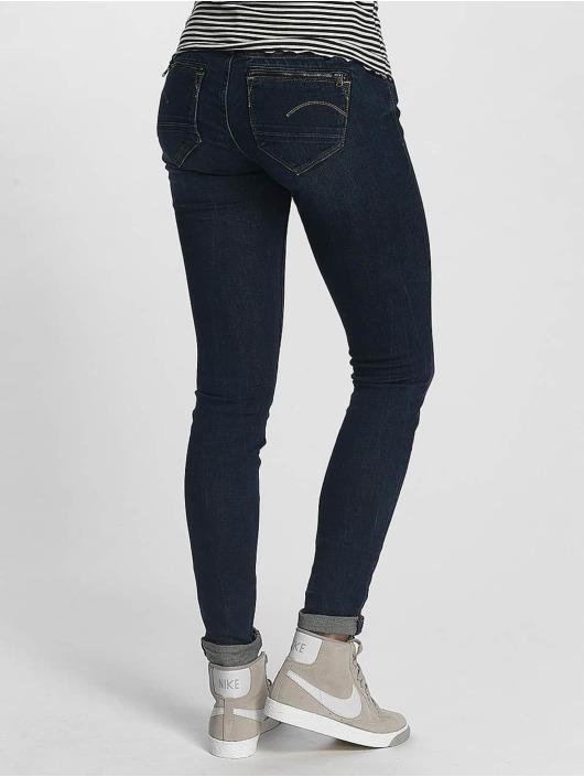 G-Star Úzke/Streč Midge Zip modrá