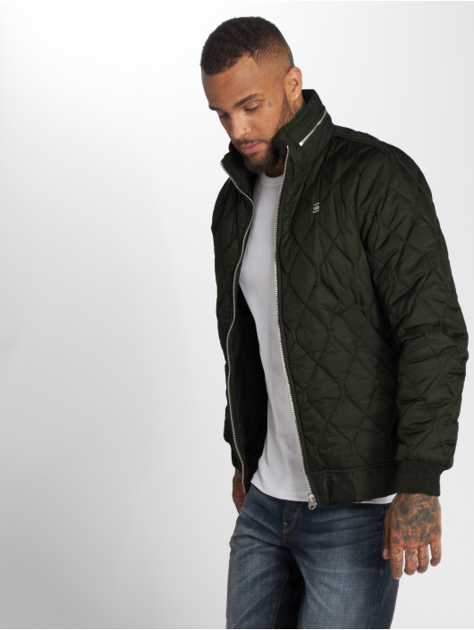 G-Star Chaqueta de invierno Meefic Quilted Overshirt caqui