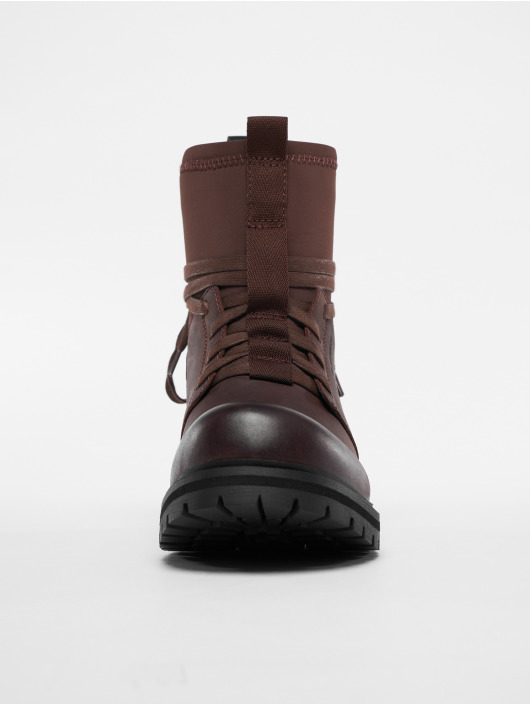 G-Star Footwear Kozaki Deline czerwony