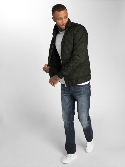 G-Star Kurtki zimowe Meefic Quilted Overshirt khaki