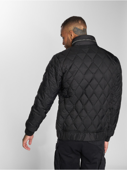 G-Star Winter Jacket Meefic Quilted Overshirt black